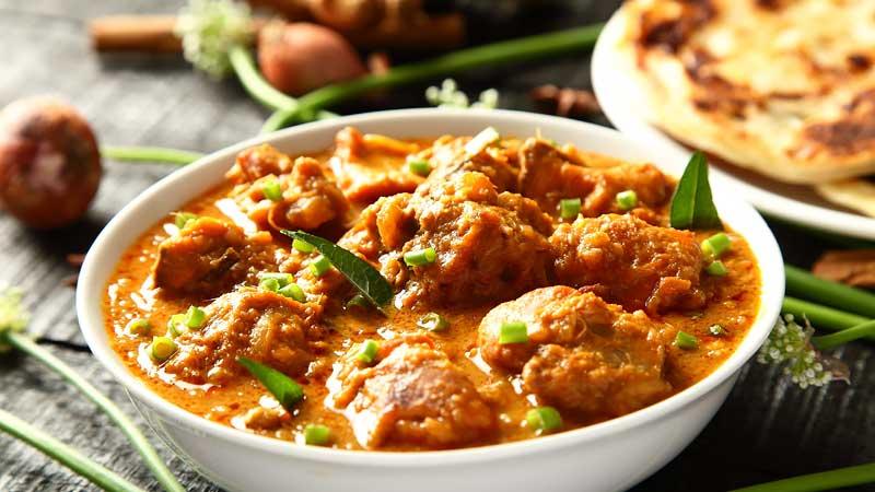 Hähnchen Curry 3 Dosha
